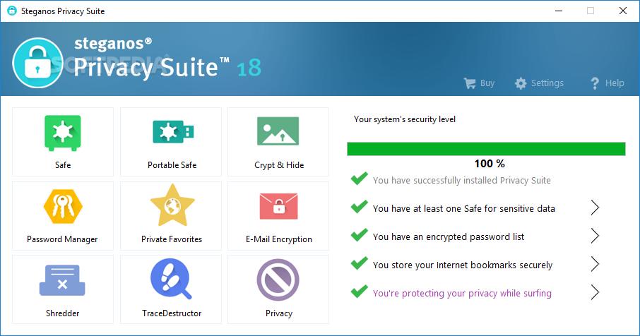 Steganos Privacy Suite 20.0.13 Revision 12601