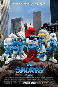 The Smurfs 2011 Dual Audio Movie Download Hindi 300mb BRRip 480p