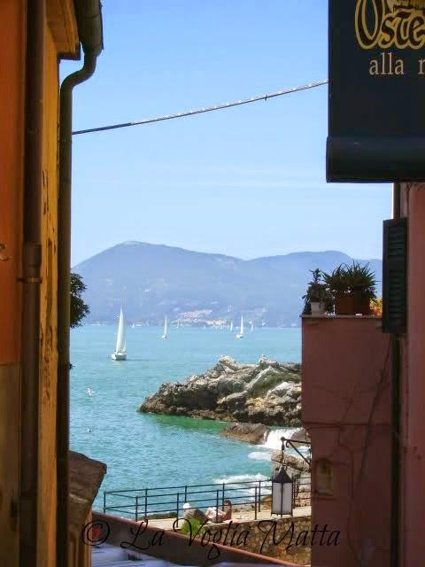 Liguria scorcio di Tellaro