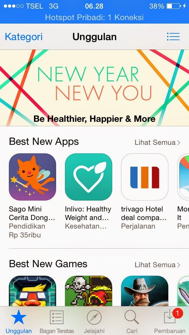 app store iphone 5s