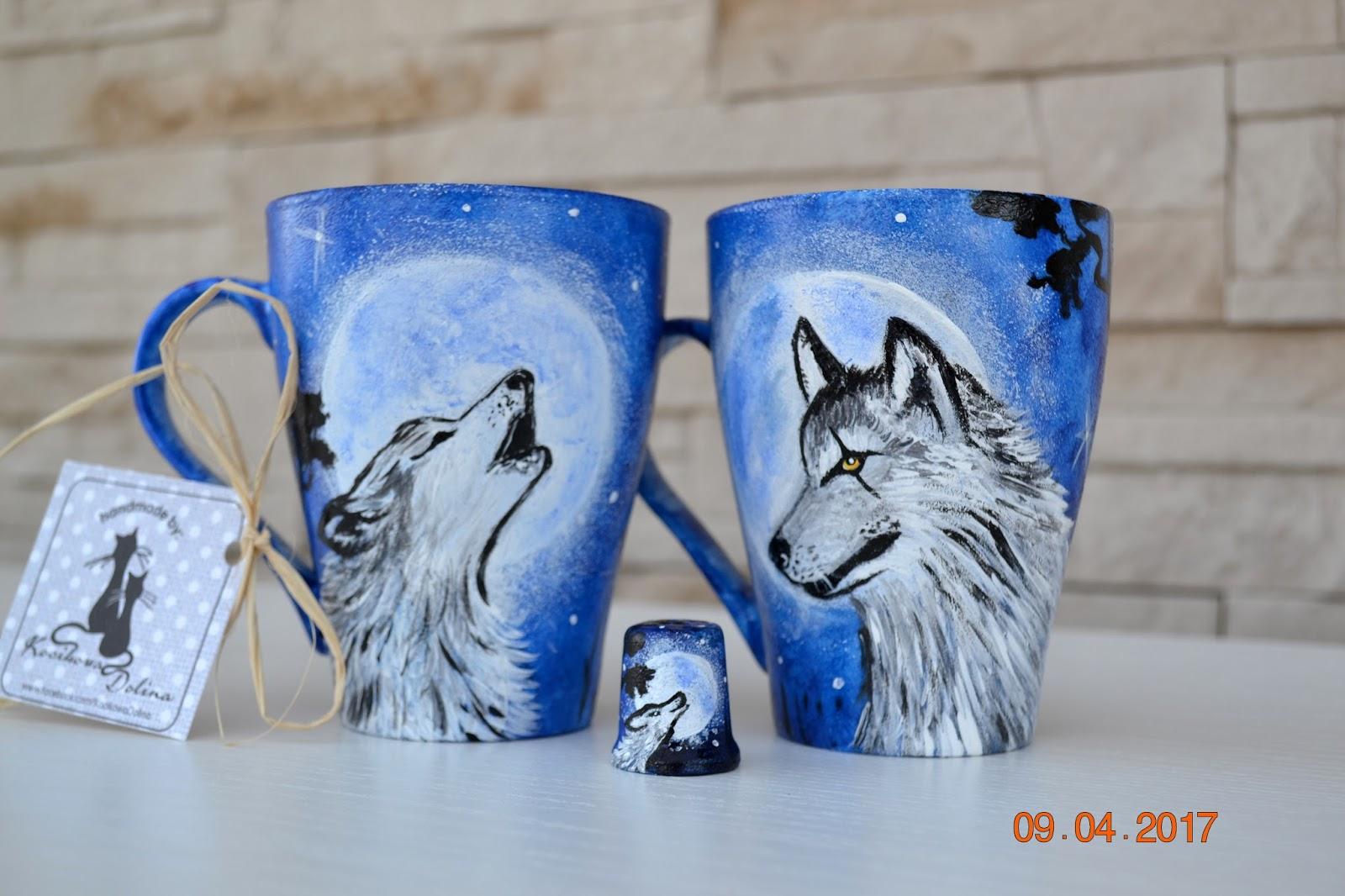 O uważności, Joannie i kubki z wilkami