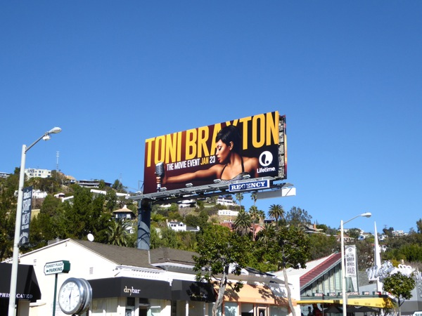 Toni Braxton movie billboard