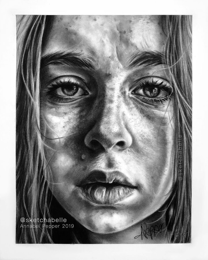 07-Self-Portrait-Annabel-Portrait-Drawings-www-designstack-co