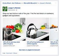 anúncio do facebook formato carrossel