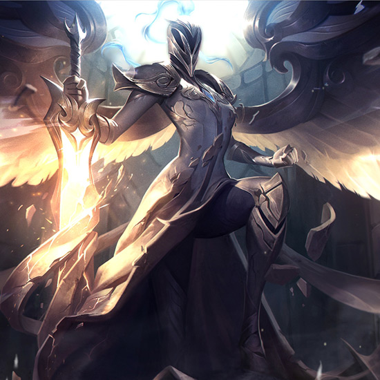 Silver Kayle Wallpaper Engine