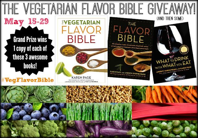 The Vegetarian Flavor Bible Giveaway #VegFlavorBible
