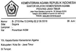Aturan Tentang Penerbitan NISM Tahun 2018