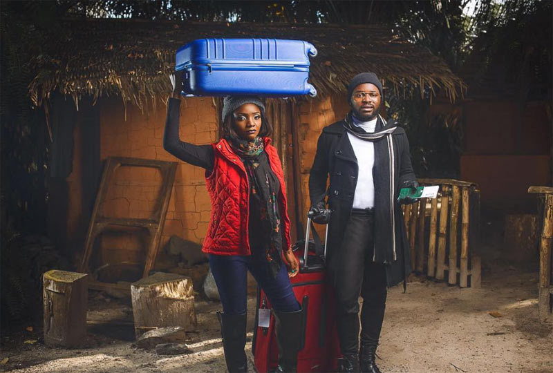 Pre-wedding photos? These photos of Falz The Bahd Guy and Simi though