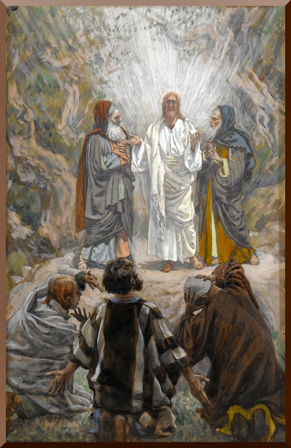 """The Transfiguration"" -- by James Tissot"