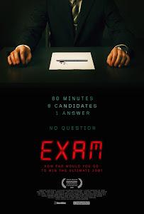 Exam Poster
