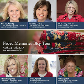 Faded Memories Blog Tour for Penny Rose fabrics
