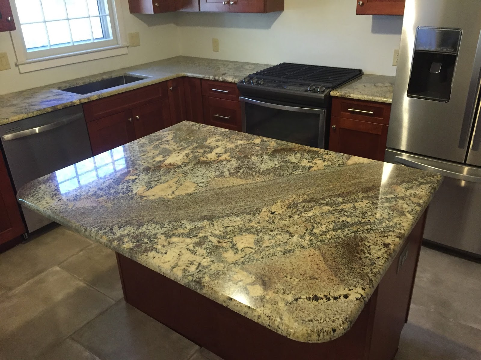 kitchen countertop trends martha stewart towels granite budget countertops charlotte