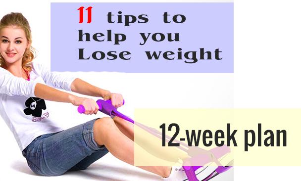 weight loss 12 week plan