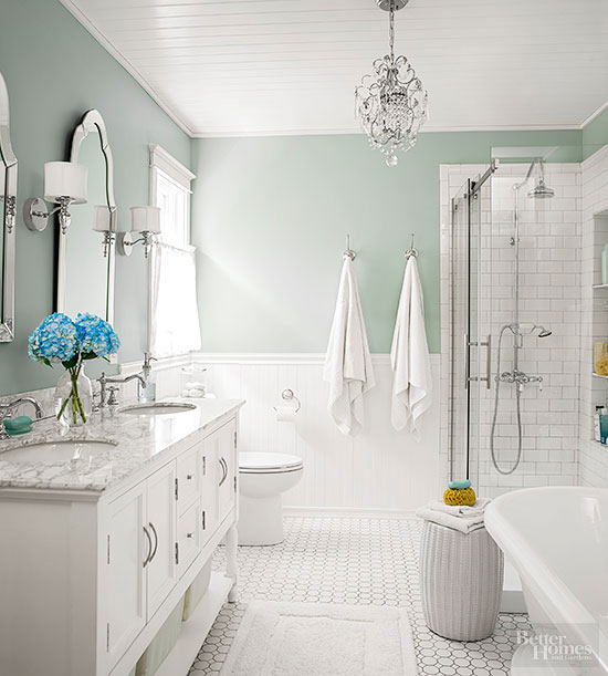 classic beadboard bathroom - Bathroom Beadboard