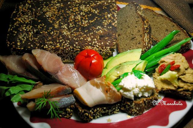 Хлеб соево-льняной белковый, низкоуглеводный