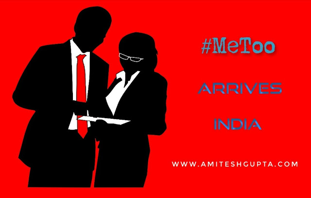 metoo in India timesup for sexual harassment