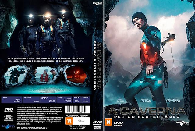 Capa DVD A Caverna Perigo Subterrâneo [Exclusiva]