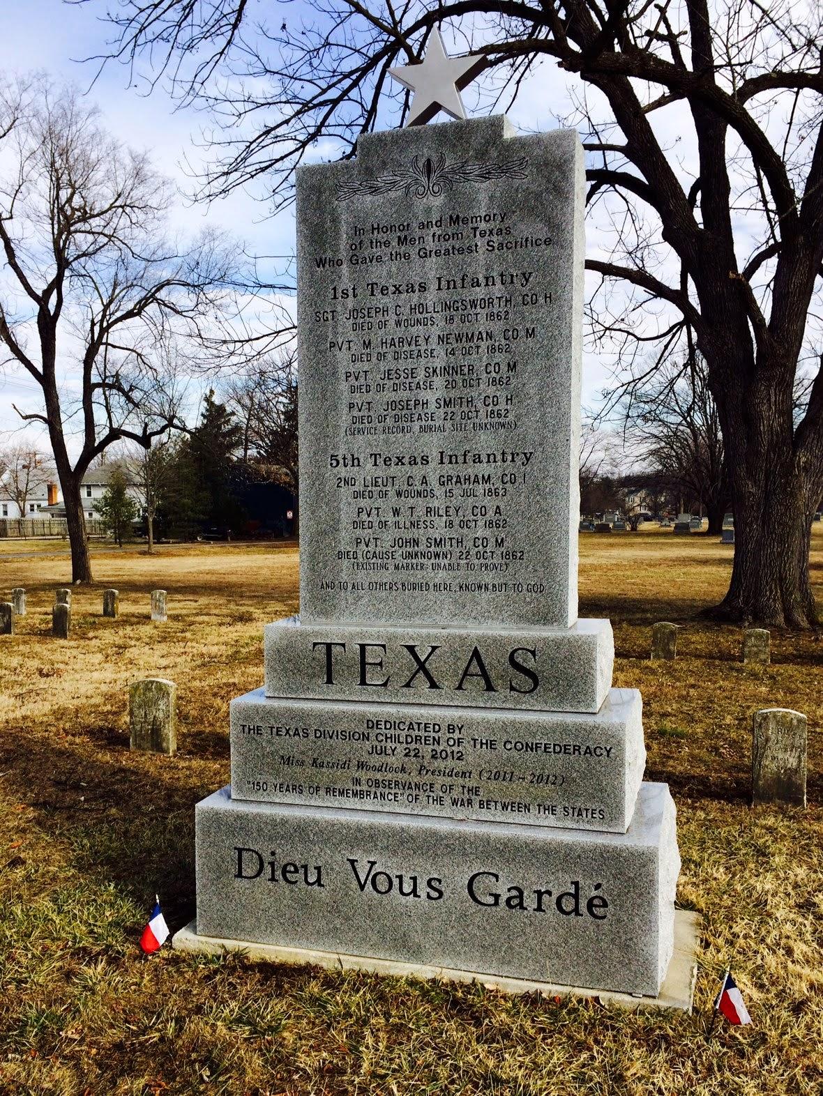 John Banks Civil War Blog Winchester Va Cemetery A