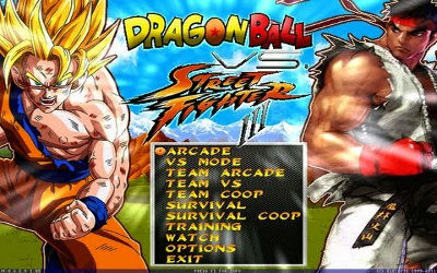 Dragon Ball Vs Street Fighter III - Jeu de Combat 2D sur PC