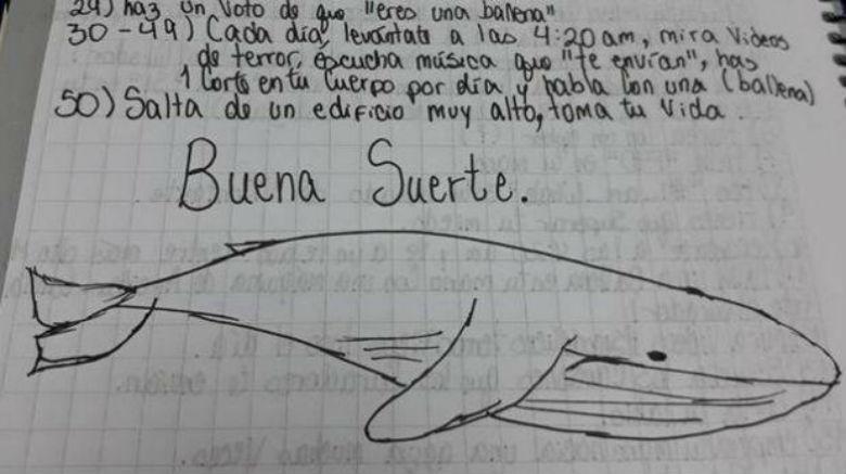 El reto de 'la ballena azul' alerta a padres en el mundo