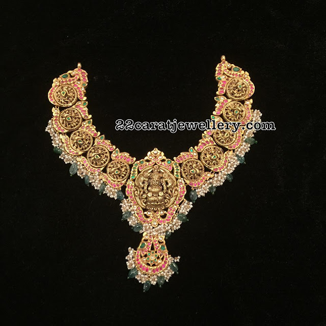 Lakshmi Peacock Set by Radhika Jewellers