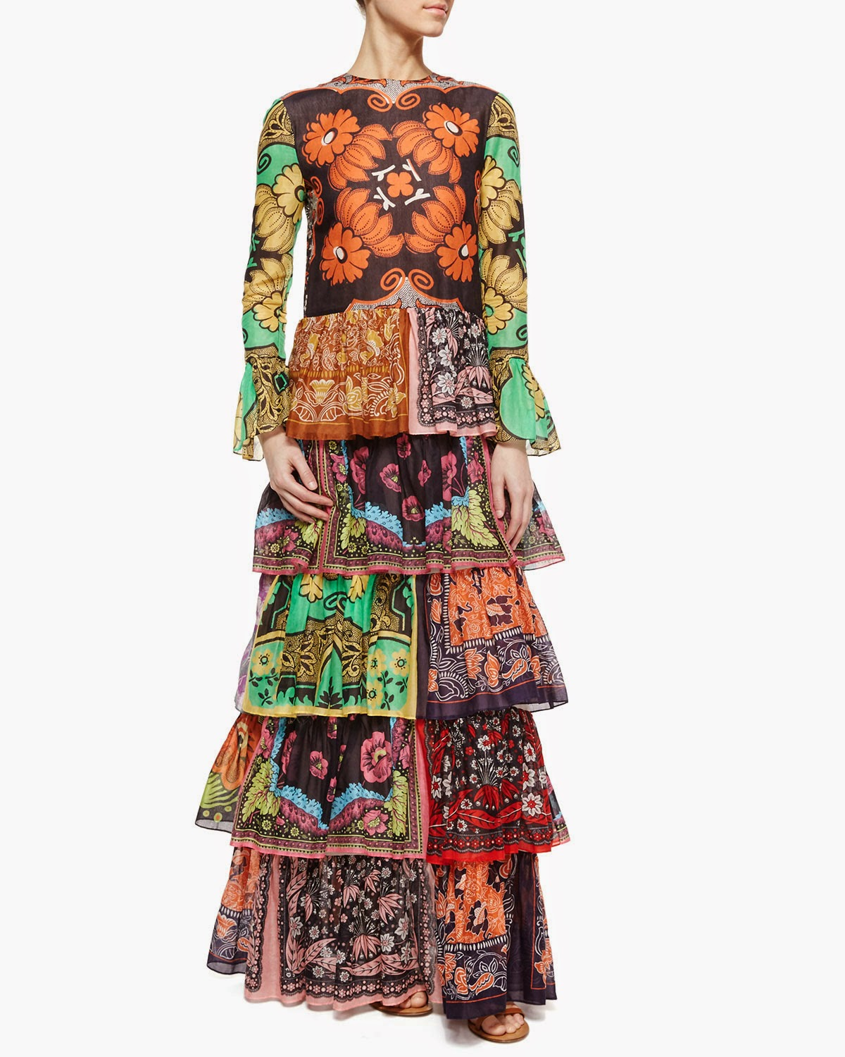 f9385ba68b ... to a $7900 Valentino gown (can't just call it a dress), there must be  gold in them thar Bohemian Hills. Thus anointed, you can be sure— Boho is  back.