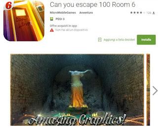 Soluzioni Can you escape 100 Room 6 di tutti i livelli