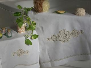 Towels of linen - Asciugamani di lino