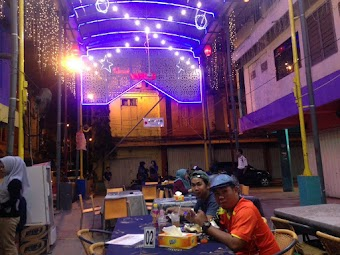 Pusat Culinary Malam di Palembang, Lorong Basah Culinary