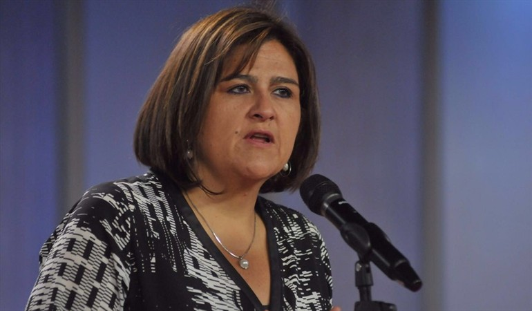 Renuncia la super Ministra de la Presidencia, María Lorena Gutiérrez