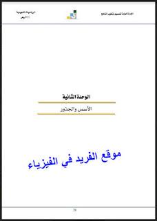 كتاب شرح الأسس والجذور pdf، موضوع الأسس والجذور في الرياضيات، مسائل محلولة في الأسس والجذور ، أمثلة مع الحل ن تمارين وحلول الأسس والجذور pdf