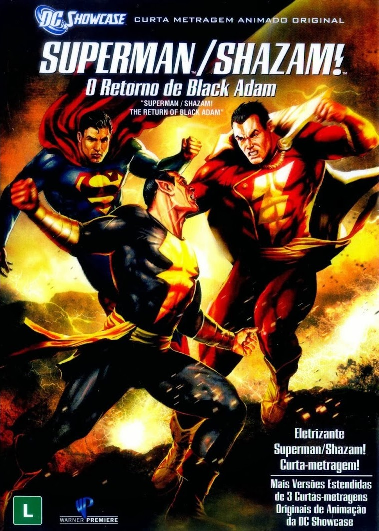 Superman e Shazam – O Retorno do Adão Negro - Full HD 1080p