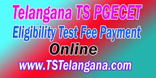 Telangana-TS-PGECET TSPGECET pgecet tspgecet