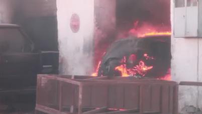 أكادير - حريق مهول بشارع 2 مارس يخلف خسائر مادية فادحة