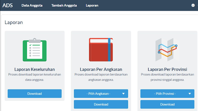 Download Source Code Sistem Informasi Alumni Berbasis Web