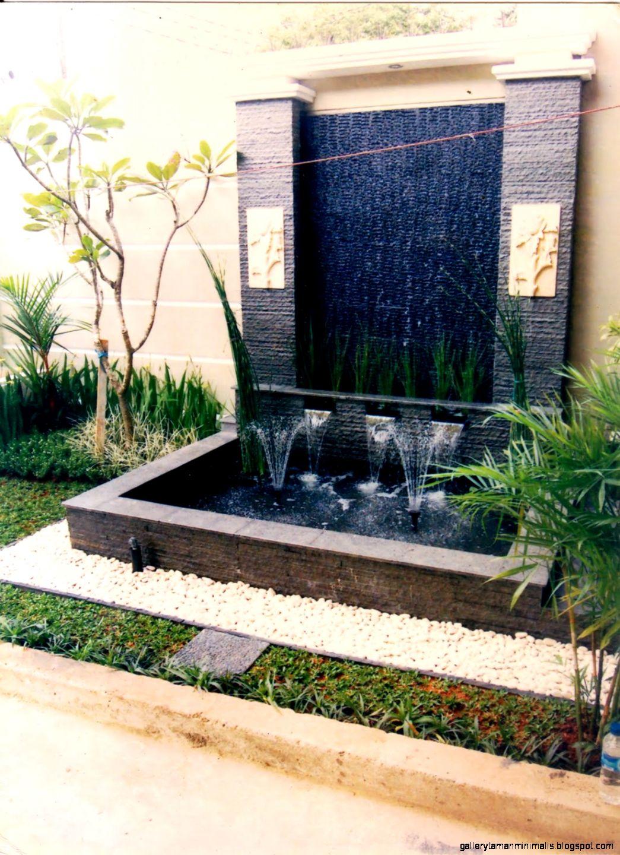 design taman kolam hias amp air terjun minimalis saung amp gazebo