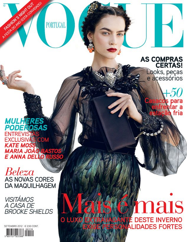Patrycja Gardygajlo Gucci Vogue Portugal September 2012 cover