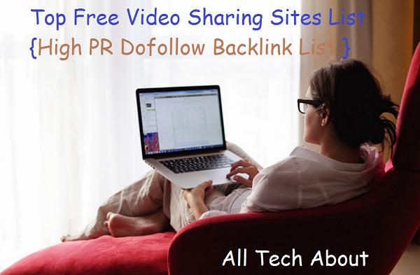 Danh sách website chia sẽ video có PR cao và Link Dofollow