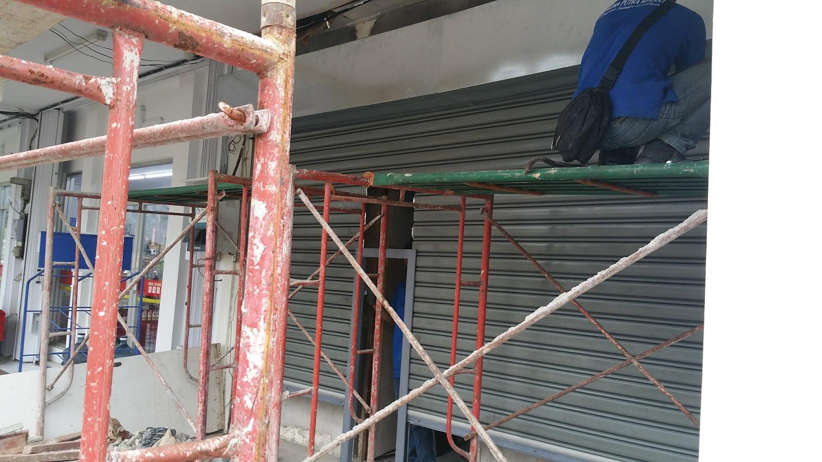 Rolling Door Otomatis Bekasi | Pemasangan Rolling DOOR