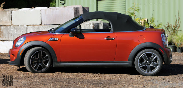 2013 MINI Cooper S Roadster top up