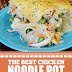 The Best Chicken Noodle Pot Pie Casserole #noodlepot #piecaasserole