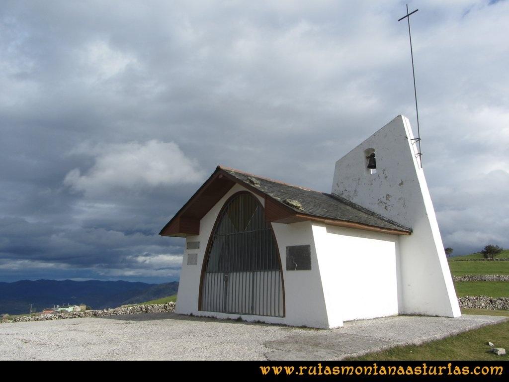 Ruta Alto Aristebano, Estoupo, Capiella Martín: Capilla de la Divina Pastora