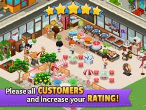 Cafeland World Kitchen MOD APK 1.1.1 Unlimited Money Update Terbaru Android