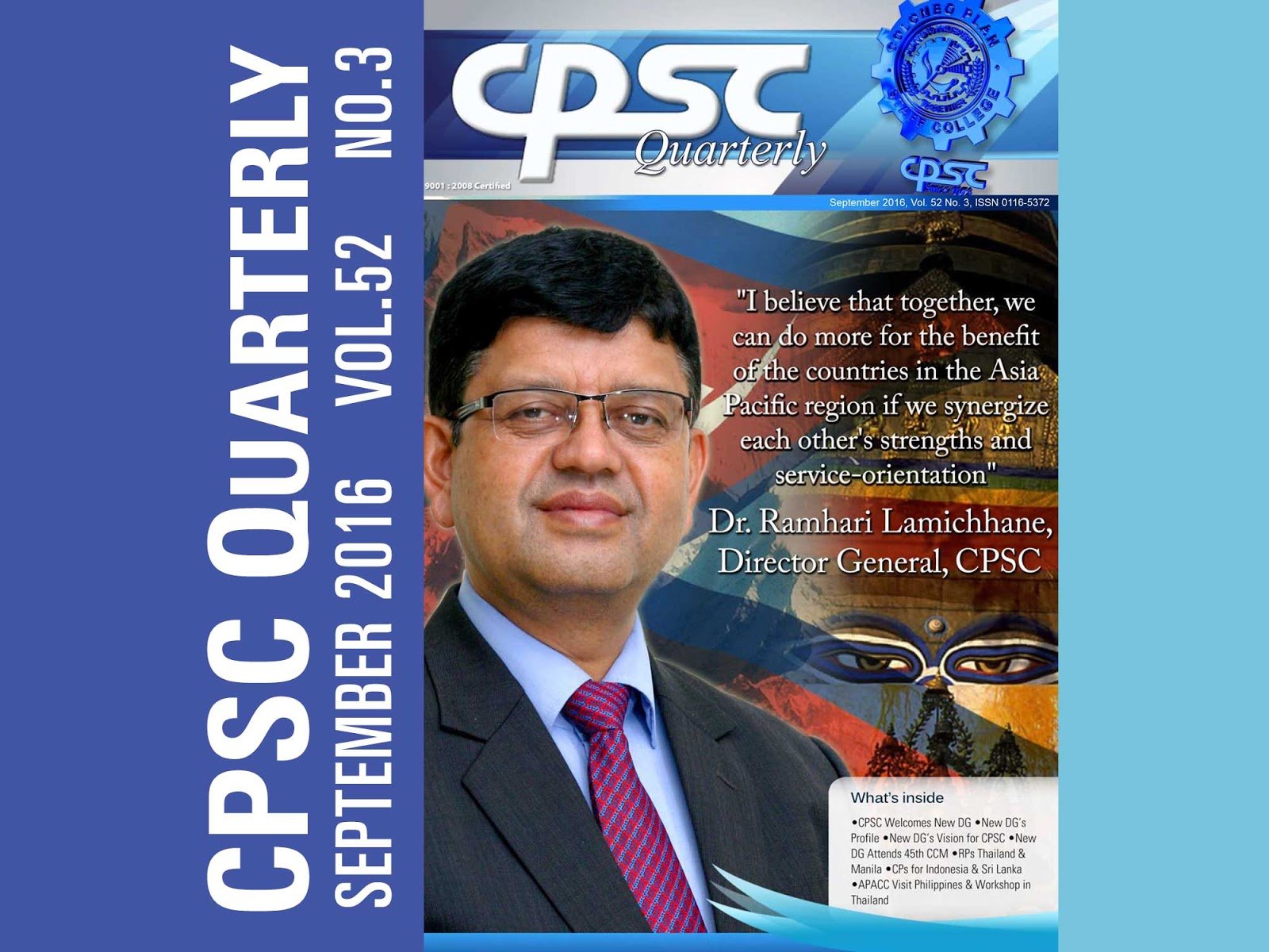 CPSC Quarterly September 2016