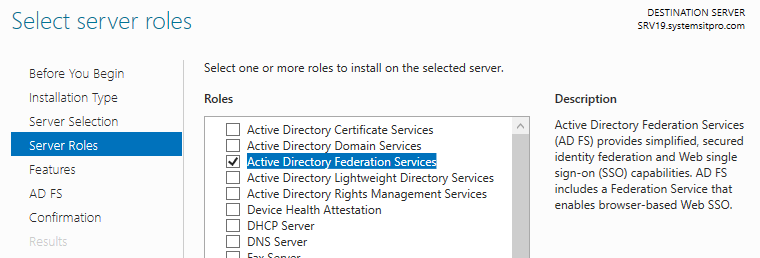 How to Deploy Active Directory Federation Services (ADFS) on