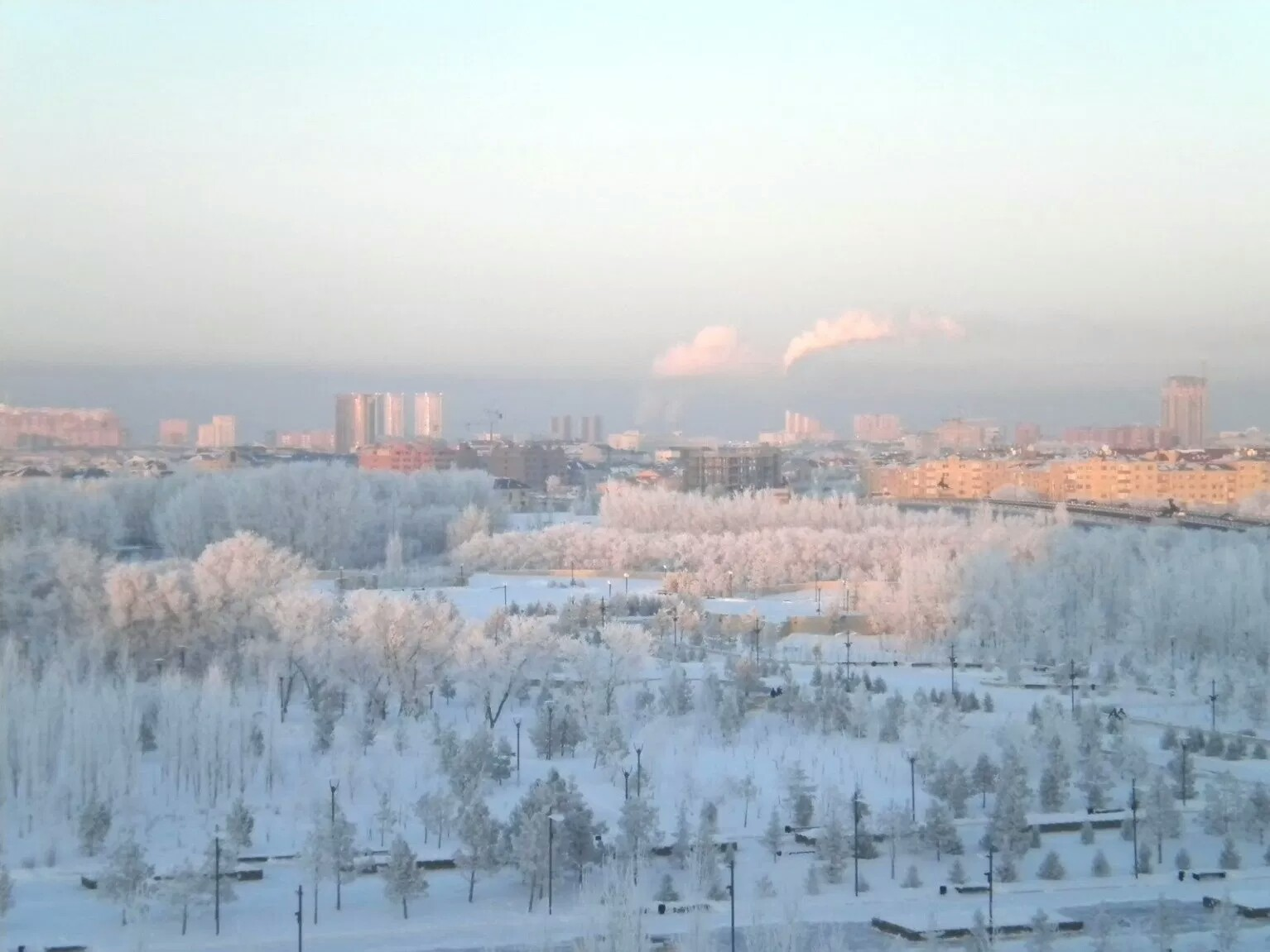 Kazakhstan coldest country