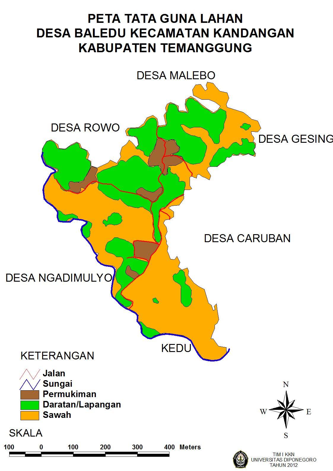 GEOGRAFI DESA BALEDU | Desaku Baledu Kandangan