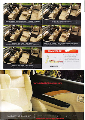spesifikasi - interior mitsubishi xpander