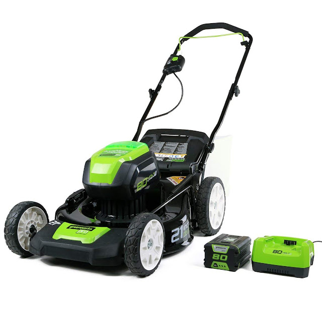 greenworks cordless lawnmower best