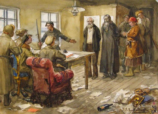 Владимиров. Суд над контрреволюционерами